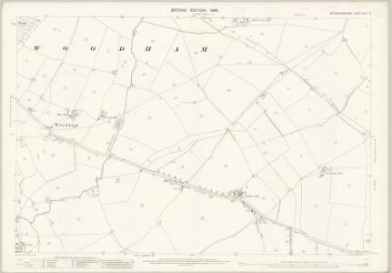 Buckinghamshire XXVII.3 (includes: Quainton; Westcott; Woodham; Wotton Underwood) - 25 Inch Map