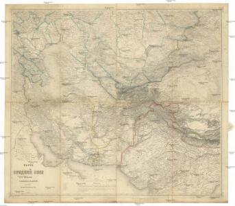 Karta srednej Azii