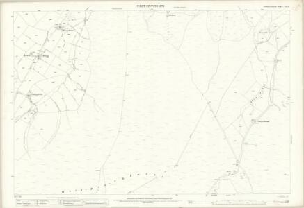 Denbighshire XVII.4 (includes: Bylchau; Llansannan; Nantglyn) - 25 Inch Map