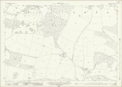 Oxfordshire L.10 (includes: Bix; Nettlebed; Nuffield; Swyncombe) - 25 Inch Map