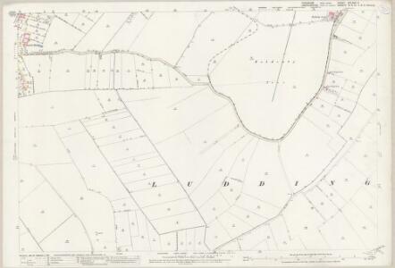 Yorkshire CCLXVII.3 (includes: Amcotts; Eastoft; Haldenby; Luddington) - 25 Inch Map