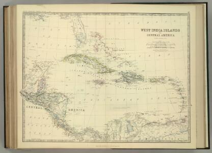 West India Islands and Central America.