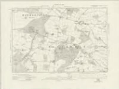 Staffordshire XL.SW - OS Six-Inch Map