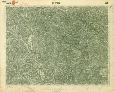 III. vojenské mapování 4469
