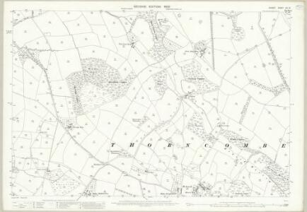 Dorset XIX.13 (includes: Chard; Thorncombe) - 25 Inch Map