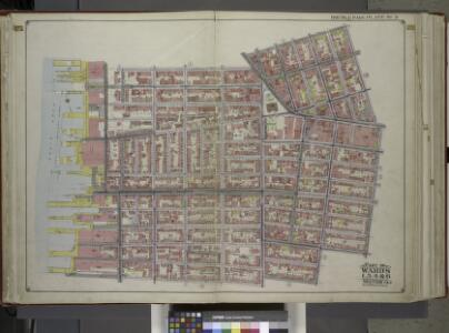 Brooklyn, Vol. 1, Double Page Plate No. 2; Part of Wards 1, 3, 4 & 6, Section 1 & 2; [Map bounded by Pierrepont St., Johnson St., Bridge St., Hoyt St., Smith St.; Including Warren St., Baltic St., East River, Furman St.] / by and under the direction o...