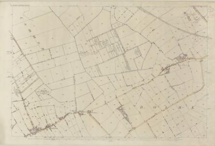 Cumberland XXVIII.1 (includes: Holme Abbey) - 25 Inch Map