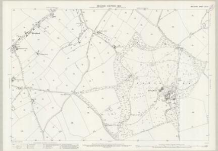 Wiltshire LXIX.14 (includes: Berwick St John; Donhead St Andrew; Donhead St Mary) - 25 Inch Map