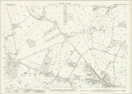 Berkshire XXXIX.9 (includes: Binfield; Easthampstead; Warfield) - 25 Inch Map