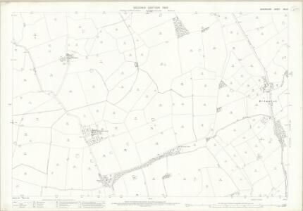 Shropshire XXI.10 (includes: Broughton; Myddle) - 25 Inch Map