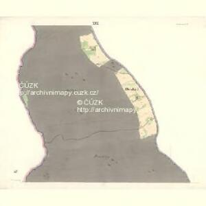 Ostrawitz - m2189-1-016 - Kaiserpflichtexemplar der Landkarten des stabilen Katasters