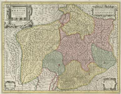Alpinae seu Foederatae Rhaetiae Subditarumque ei Terrarumque nova descriptio