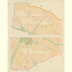 Dinin - c1639-1-001 - Kaiserpflichtexemplar der Landkarten des stabilen Katasters