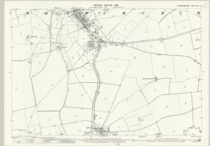 Buckinghamshire XXIII.15 (includes: Hardwick; Whitchurch) - 25 Inch Map