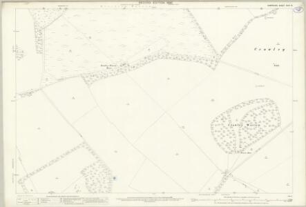 Hampshire and Isle of Wight XXXII.15 (includes: Barton Stacey; Chilbolton; Crawley) - 25 Inch Map
