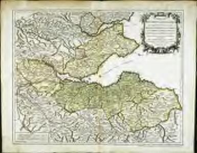 Carte des environs d'Edenburg