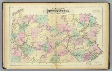 Penn. railway map.
