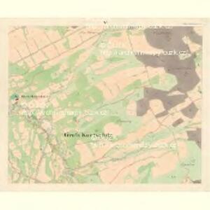 Gross Kuntschitz (Welka Kunčica) - m1425-1-005 - Kaiserpflichtexemplar der Landkarten des stabilen Katasters