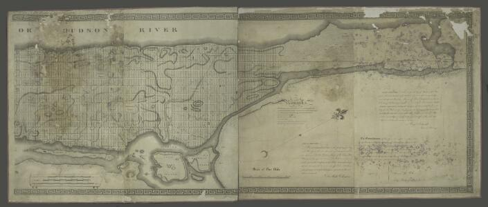 [Map of the city of New York and island of Manhattan as laid out by the commissioners appointed by the Legislature, April 3, 1807]
