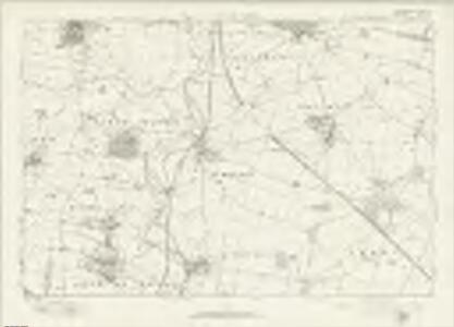 Northamptonshire LXVI - OS Six-Inch Map