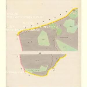 Bärringen - c5700-1-001 - Kaiserpflichtexemplar der Landkarten des stabilen Katasters