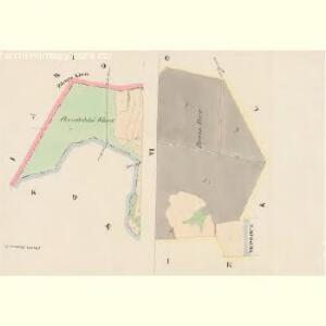 Pradlo - c6067-1-001 - Kaiserpflichtexemplar der Landkarten des stabilen Katasters