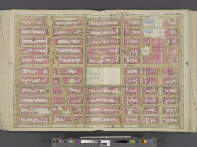 Manhattan, Double Page Plate No. 20 [Map bounded by W. 47th St., Lexington Ave., W. 36th St., 8th Ave.]