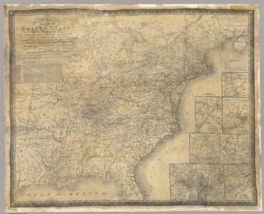 Mitchell's map of the United States.