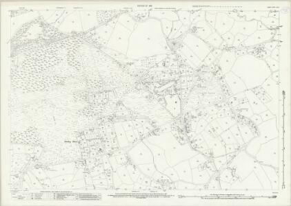 Surrey XVI.2 (includes: Chobham; Windlesham) - 25 Inch Map
