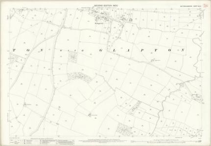 Nottinghamshire XLVI.1 (includes: Barton In Fabis; Clifton With Glapton; Ruddington) - 25 Inch Map