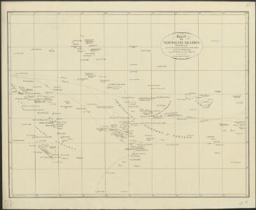 Kaart der Vriendelyke eilanden : behoorende tot de door het Provinciaal Utrechtsch Genootschap bekroonde Verhandeling van R.G. Bennet en J. van Wyk Rz.