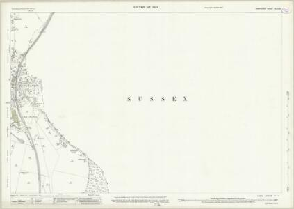 Hampshire and Isle of Wight LXVIII.16 (includes: Rowlands Castle; Stoughton) - 25 Inch Map