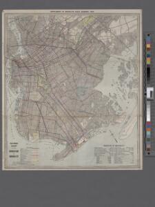 Eagle almanac map of the borough of Brooklyn.
