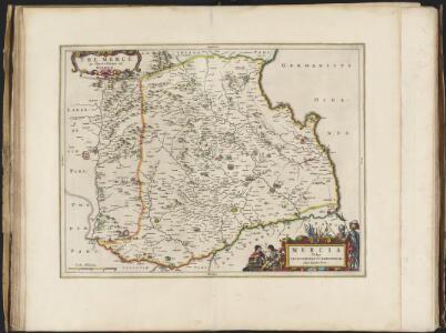 Mercia, vulgo vicecomitatus, Bervicensis / auct. Timothei Pont. Merce or Shirrefdome of Berwick.