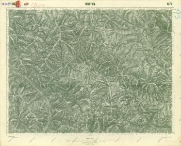 III. vojenské mapování 4672