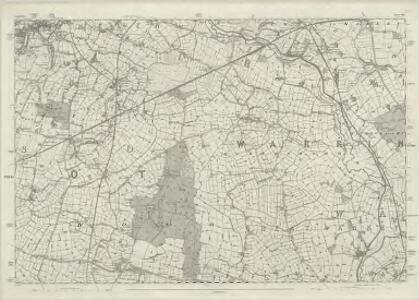 Lancashire CVIII - OS Six-Inch Map