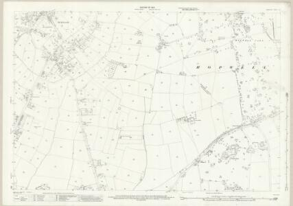 Derbyshire L.16 (includes: Draycott and Church Wilne; Hopwell; Ockbrook) - 25 Inch Map