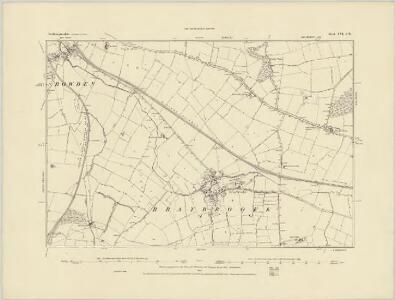 Northamptonshire XV.SE - OS Six-Inch Map