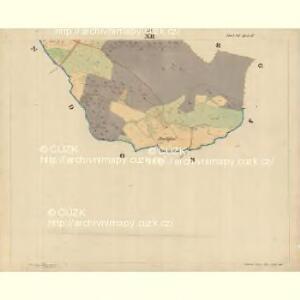Böhm. Gillowitz - c2059-2-012 - Kaiserpflichtexemplar der Landkarten des stabilen Katasters
