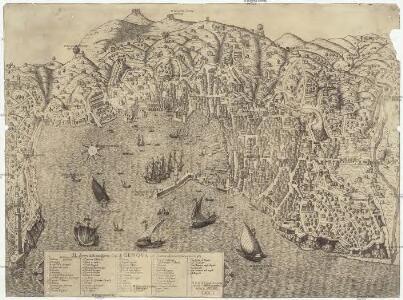 Il dissegno della nobilissima citta di Genova con il numero delle cose piu notabil di essa