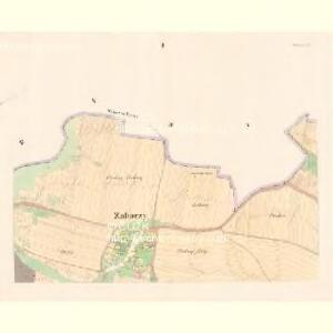 Zahorzy - c9059-1-001 - Kaiserpflichtexemplar der Landkarten des stabilen Katasters