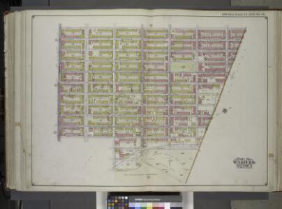 Brooklyn, Vol. 1, 2nd Part, Double Page Plate No. 40; Part of Ward 28, Section 11; [Map bounded by Cornelia St., Wyckoff Ave., Eldert St., Irving Ave.; Including Cemetery Lane, Granite St., Evergreen Ave., Moffatt St., Broadway] / by and under the dir...