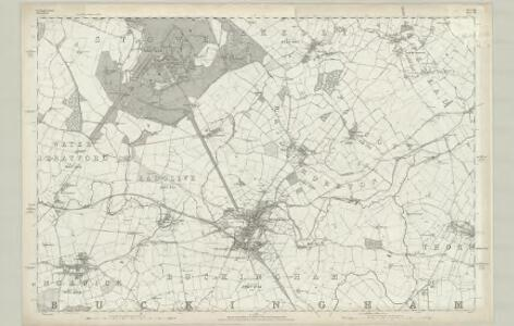 Buckinghamshire IX - OS Six-Inch Map