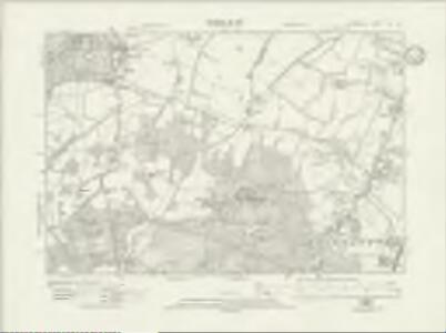 Hampshire & Isle of Wight XLIX.SE - OS Six-Inch Map