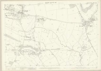 Monmouthshire XXX.11 (includes: Caer Went; Caldicot; Mathern) - 25 Inch Map