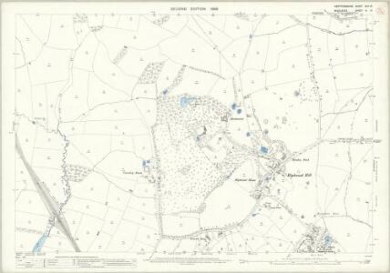 Hertfordshire XLV.10 (includes: Arkley; Hendon; Totteridge) - 25 Inch Map