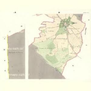 Tinischt (Tinisst) - c8155-1-003 - Kaiserpflichtexemplar der Landkarten des stabilen Katasters