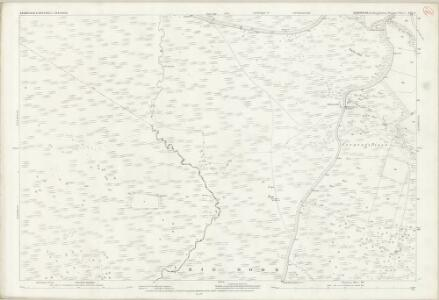 Derbyshire XVII.5 (includes: Baslow and Bubnell; Froggatt; Hathersage; Nether Padley) - 25 Inch Map