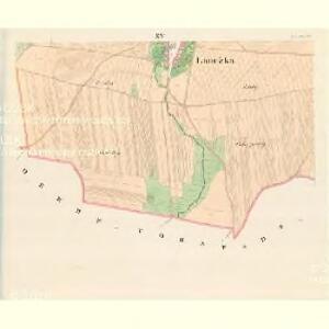 Laucžka - m1610-1-014 - Kaiserpflichtexemplar der Landkarten des stabilen Katasters