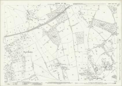 Surrey XXIV.8 (includes: East Horsley; West Horsley) - 25 Inch Map